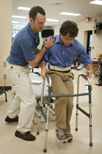 Photo courtesy of Lynchburg College's Doctorate of Physical Therapy Program